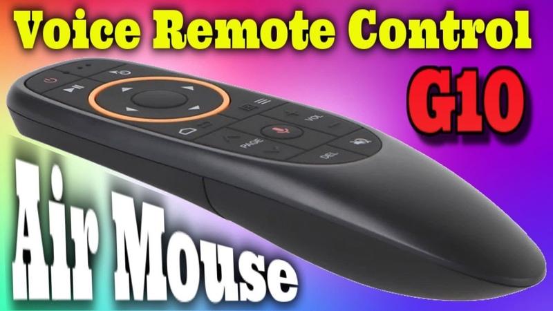 Обзор Air Mouse G10S Пульт с микрофоном гироскопом и возможностью программирования