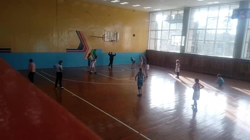 № 7 Тайшет - Саянск -1 (46:25). Пер-во Ирк. обл. по баскетболу среди девушек 2002 г.р.