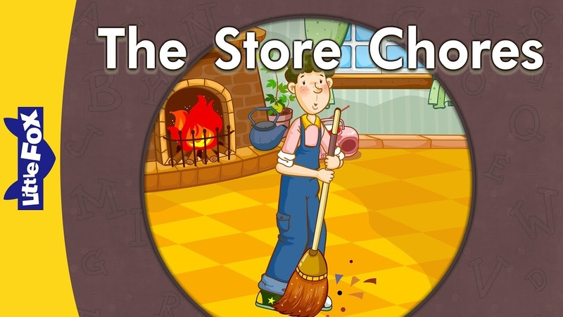 '_ore', '_are' words: The Store Chores | Level 3 | By Little Fox