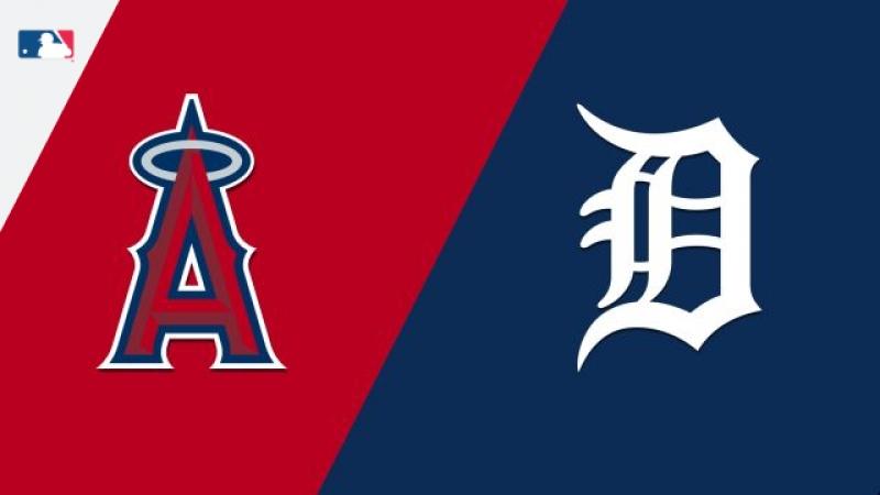 AL / 29.05.18 / LA Angels @ DET Tigers (2/4)