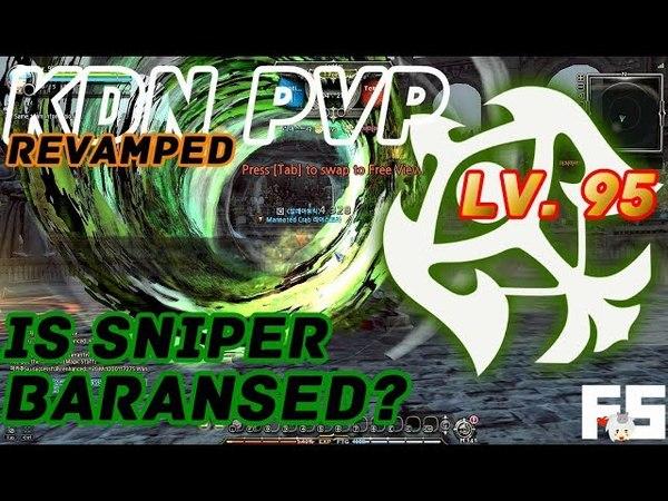 Dragon Nest PvP: Sniper (Revamp) v Inqui, SS, Ruina, BM, GL | Gladiator, Soul Eater KDN Rd Ladder 95