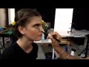 Катя Лашко - бекстейдж со съемки United Colors of Benetton