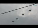 Авиация репетирует Главный военно-морской парад (22.07.2018)