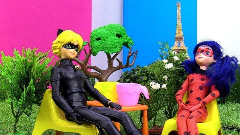 Spielspaß mit Puppen - Ladybug und Cat Noir - Spielzeugvideo für Kinder