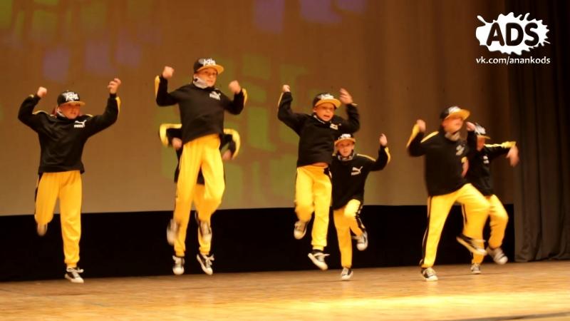 ANANKO DANCE SCHOOL_Отчетный концерт 2018_5 Hip-hop PRO kids - little gangsters
