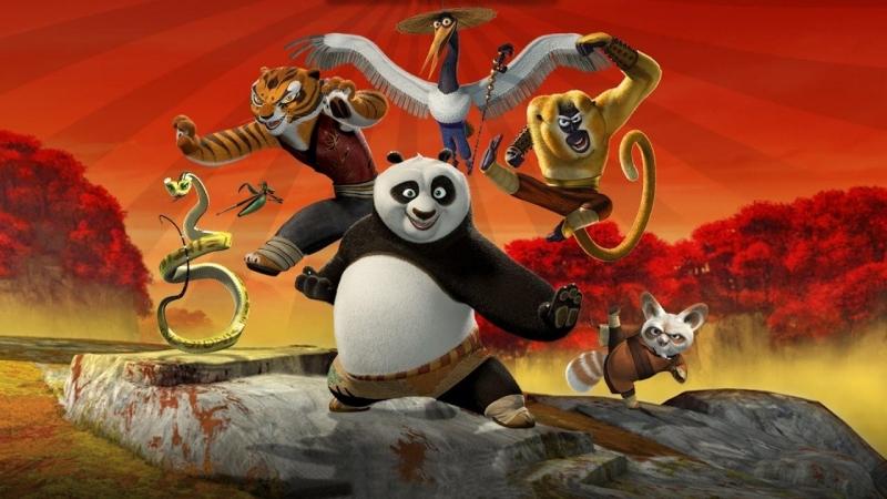 кунг фу панда 1 2 3