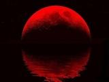 Плоская Земля. Половина кровавой Луны! Парадокс!