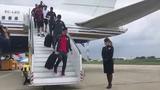 Llegada del Sevilla FC a Krasnodar para el Partido de la Europa League