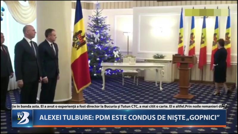 Alexei Tulbure: PDM este condus de niște Gopnici