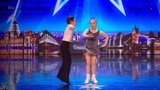 Britain's Got Talent 2018 Lexie &amp Christopher 10 Year Old Dancers Full Audition S12E03