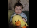 моей девочке 1 годик