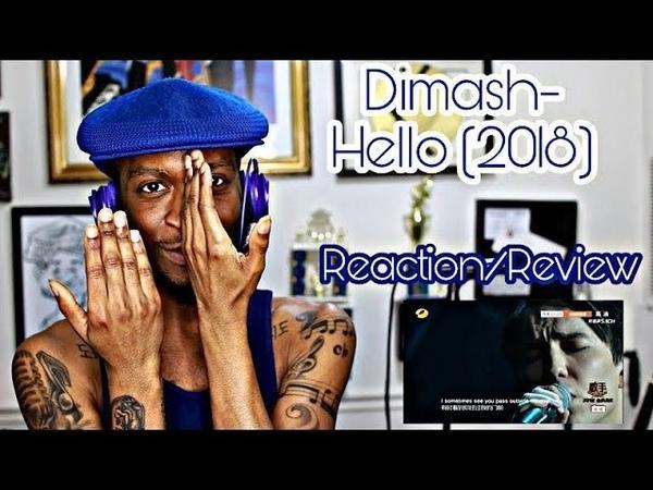 Dimash Kudaibergen- Hello (2018 Live) *Reaction/Review*