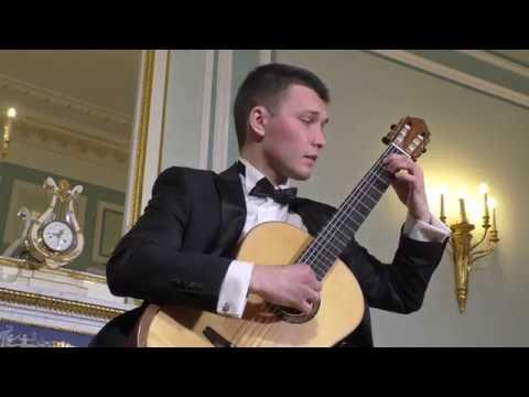 M. Ponce - Sonata romantica - Andante espressivo, M.Kasheutov