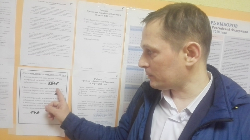 Перевыборы Путина 2018 УИК №2017 ч 2