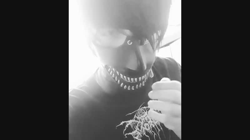 Tokyo Ghoul-Kaneki Ken Mask. Check out new single music video,first post in my page. samcore unknown emocore trashgang toky