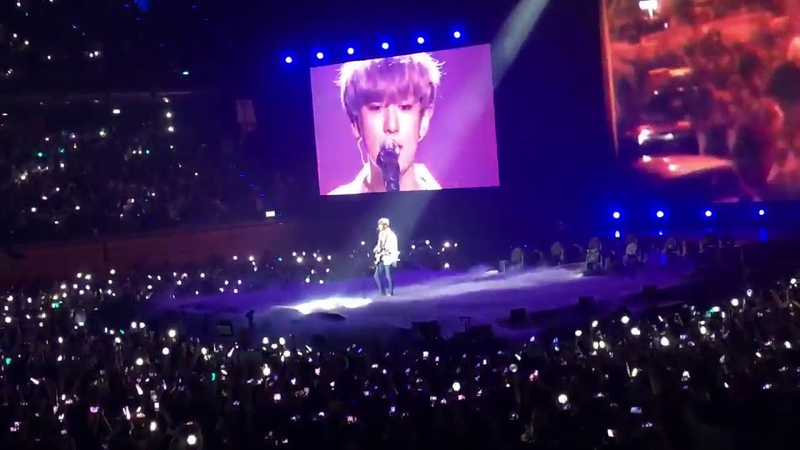 180916 EXO CHANYEOL Special Stage - Wind of Change by Scorpions @ Music Bank in Berlin