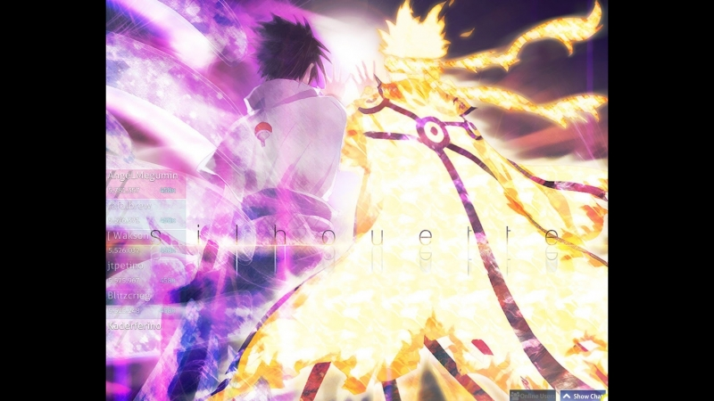 Naruto Silhouette 4.86 stars ebaniy kozel