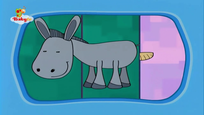 Donkey - Learning Animal Sounds and Names for Kids Toddlers - BabyTV