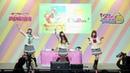 Anchan Chika Arisha Dia and Aikyan Yohane dancing along CYaRon Kinmirai Happy End