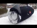 JBL BoomBox - Snow Test