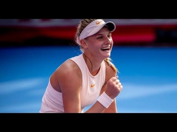 18-летняя украинка Даяна ЯСТРЕМСКАЯ вышла в полуфинал турнира в Гонконге! 🇺🇦🎾 YastremskaKucova