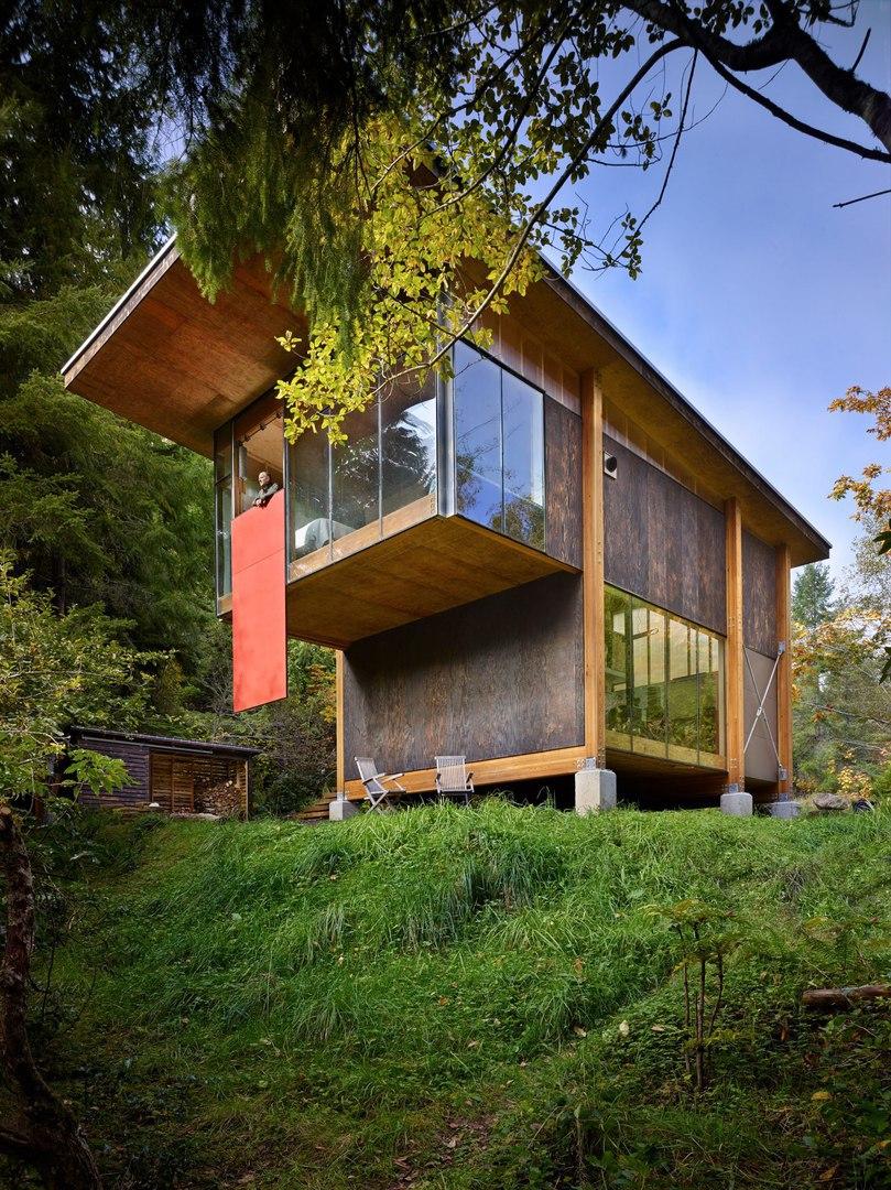 Les Eerkes/ Пассивный дом возле Вашингтона