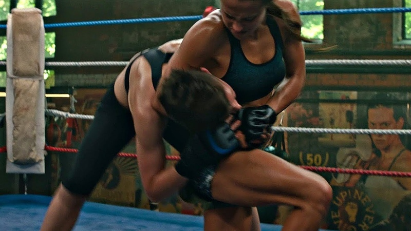 Тренировка Лары. Женский Бой без Правил (MMA). Tomb Raider: Лара Крофт. 2018
