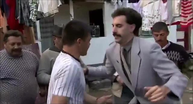 Drink dance Borat