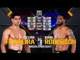 UFC 224 Cezar Ferreira VS Karl Roberson