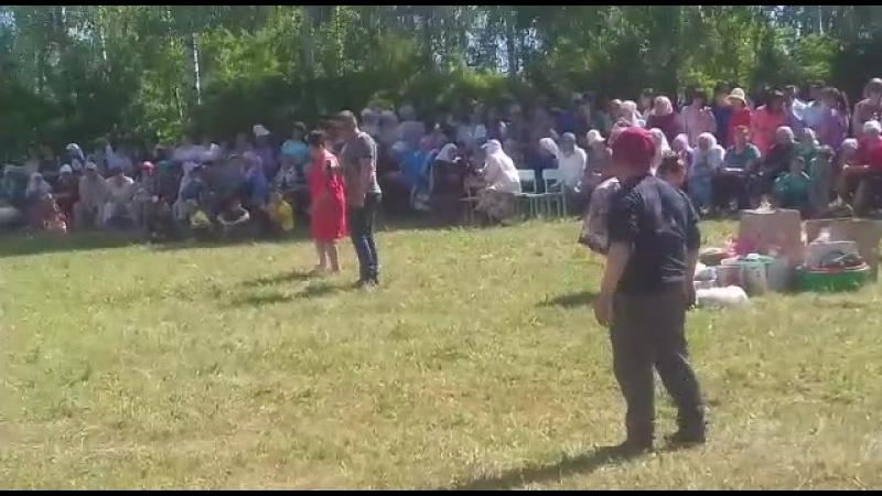 Алия-Ринас юсуповлар.2018.сабантуй.