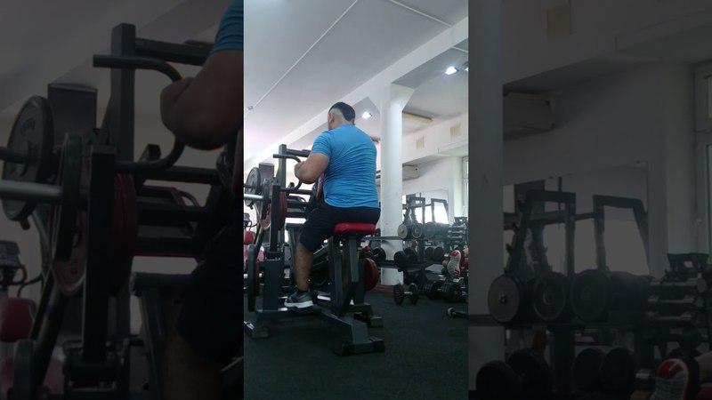 Тренировка спина, 50 секунд работаю 90 секунд отдыхаю. Так 4 подход.