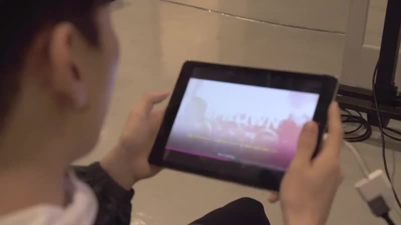 SUPER JUNIOR-DE新感覚リズムゲームSUPER STAR SMTOWNにDEの二人がチャレンジしました - DEの曲でも遊べますよぜひチェックしてみてください - -