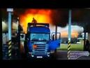 Вспышка газовоздушной смеси на нефтебазе Лукойл в Бресте по ул. Гоздецкого 3 июля 2018 года