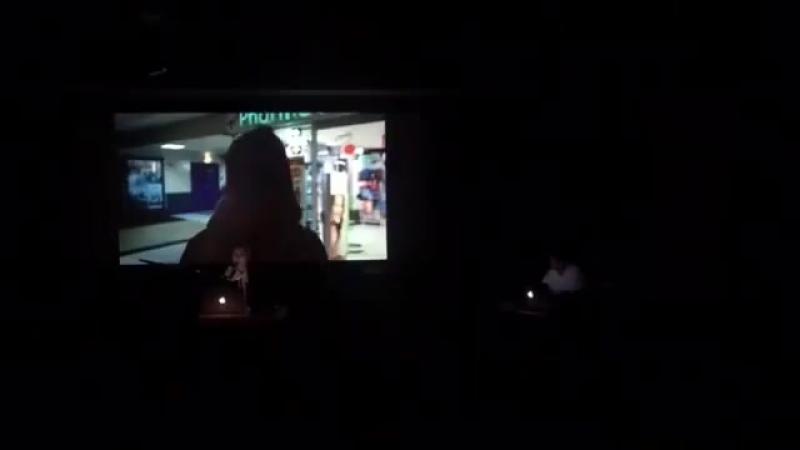 Tujiko Noriko live at アップリンク / uplink Tokyo with visuals by Joji Koyama.