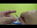 Идеальный способ вязания с петлей подъема.