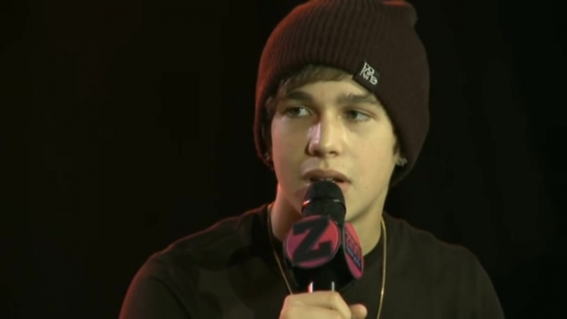 Austin Mahone Z100 Interview 6-7-13