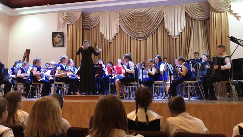 Ансамбль народных инструментов. Биберган «Ария»