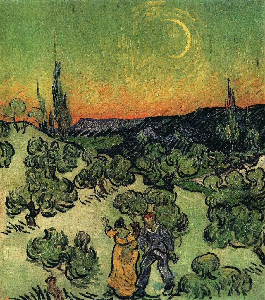 Через несколько лет после того, как Ван Гог уехал из Прованса, Оскар Уальд произнес свою знаменитую фразу о том, что в Лондоне не было туманов до тех пор, пока Уистлер не изобразил смог на своих картинах.