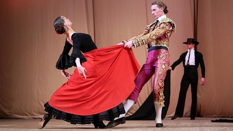 Одноактный балет Испанская баллада. ГААНТ имени Игоря Моисеева.