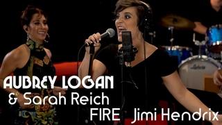 Jimi Hendrix's FIRE - trombone and tap dance - Aubrey Logan feat. Sarah Reich