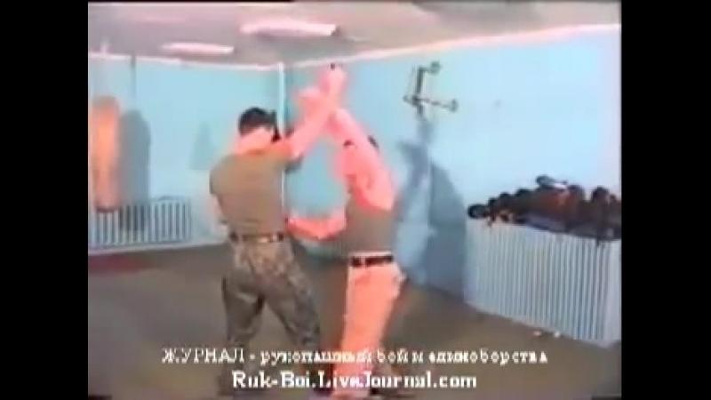 Рукопашный бой СпН ГРУ Защита от ножа Урок 4