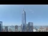 Таймлапс Башня Свободы - Всемирный торговый центр в Нью-Йорке