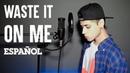 BTS, Steve Aoki - Waste It On Me (Cover en Español) | David Ponce