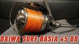 Катушка японского рынка. Daiwa Surf Basia 45 QD. Zaion + Mag Sealed