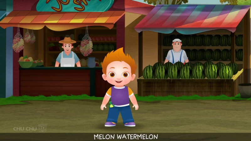 Watermelon Song (SINGLE) _ Learn Fruits for Kids _ Educational Songs Nursery Rhymes _ ChuChu TV