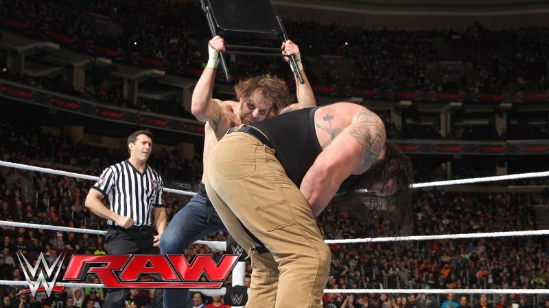 Dean Ambrose vs Braun Strowman (21.03.16)