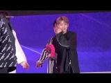 FANCAM 14.09.18 Chan (Black Heart) @ UNB on KT