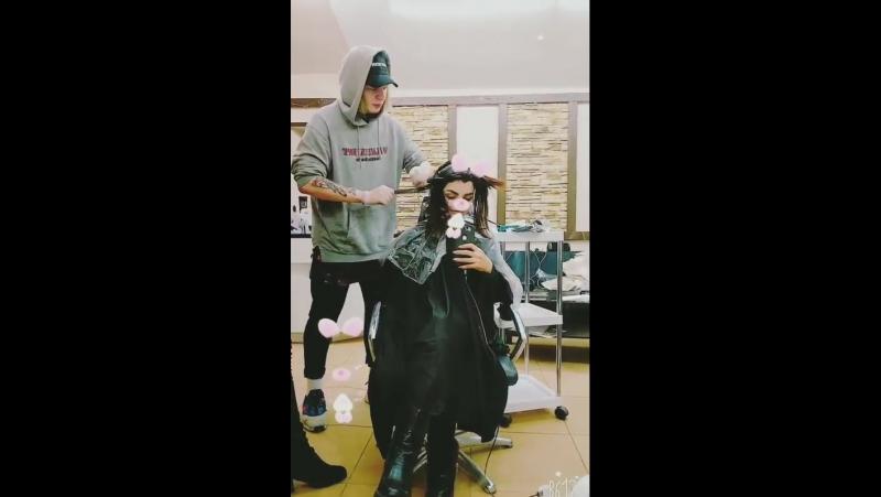 Кристина Финк Исламова и парикмахерская 2