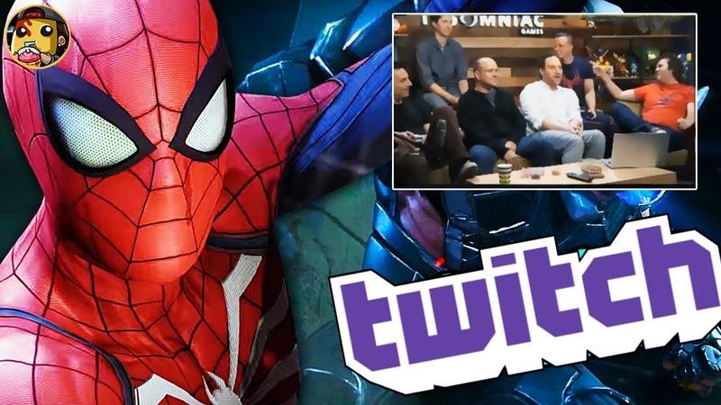 Spider-Man E3 Recap Gameplay Twitch Livestream!