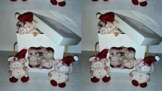 Новогодняя свинка из капрона! Мастер класс.